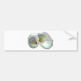 Pastel Lilies Bumper Sticker