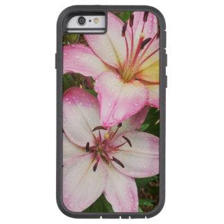 Pastel Lilies Tough Xtreme iPhone 6 Case
