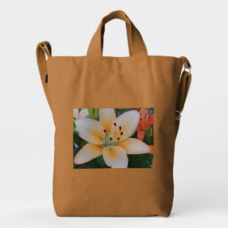 Pastel Lily Duck Bag