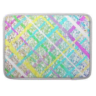 Pastel Line Pop Art MacBook Pro Sleeve