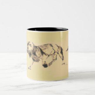 Pastel Lion ~ Mug