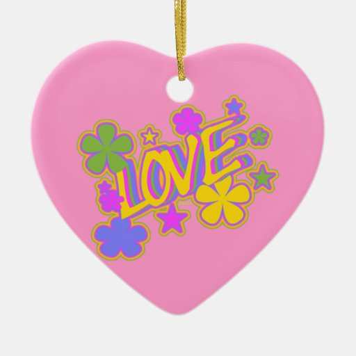 PASTEL LOVE ORNAMENT