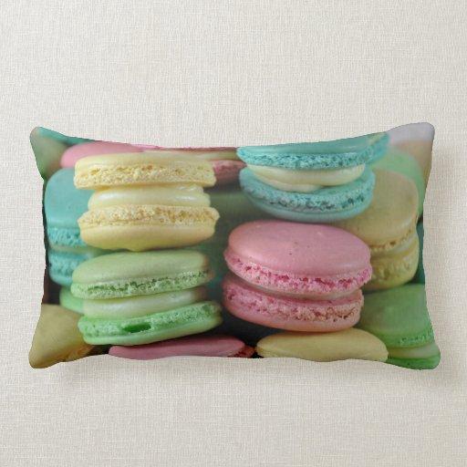 Pastel macaron macaroons sweet pillow cushion