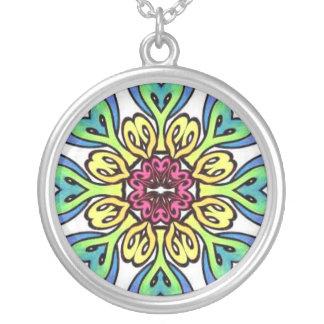 Pastel Mandala Necklace