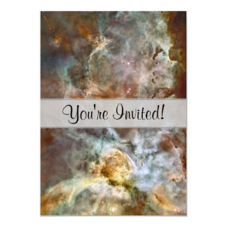 Pastel Marble in the Carina Nebula Card