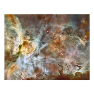 Pastel Marble in the Carina Nebula Custom Announcements