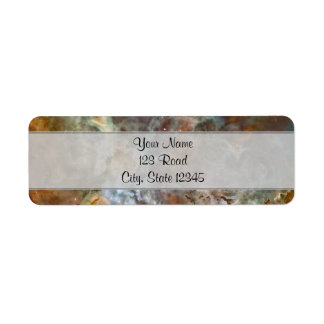 Pastel Marble in the Carina Nebula Label