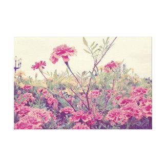 Pastel Marigolds Canvas Print