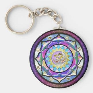 Pastel May Surprise Mandala Key Chain