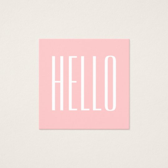 Pastel minimalist modern pink bold business card zazzle pastel minimalist modern pink bold business card reheart Choice Image