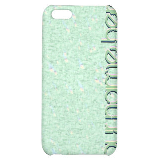 Pastel Mint Green Speckled iPhone 4 Speck Case iPhone 5C Case