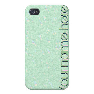 Pastel Mint Green Speckled iPhone 4 Speck Case iPhone 4/4S Cover