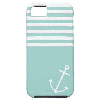 Pastel Mint Nautical iPhone SE/5/5s Case