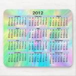 Pastel Mousepad de 2012 calendarios Tapete De Ratones