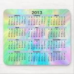 Pastel Mousepad de 2013 calendarios Alfombrilla De Raton