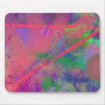 Pastel Mousepad del extracto de la fiebre de la pr Tapete De Ratones