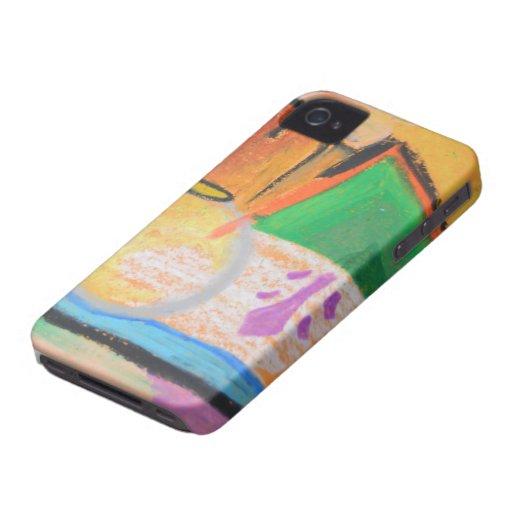 Pastel multi de la impresión Case-Mate iPhone 4 carcasa