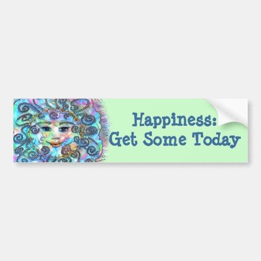 Pastel Nebula Bumper Sticker