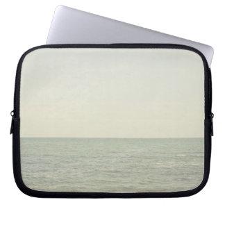 Pastel Ocean Photography Minimalism Laptop Sleeves
