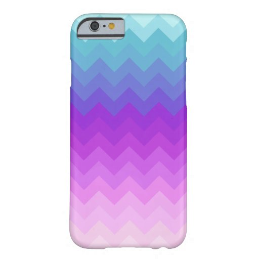 Pastel Ombre Chevron Pattern iPhone 6 Case