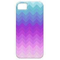 Pastel Ombre Chevron Pattern iPhone 5 Case at Zazzle