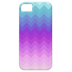Pastel Ombre Chevron Pattern iPhone 5 Case