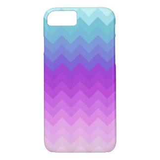 Pastel Ombre Chevron Pattern iPhone 7 Case