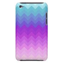 Pastel Ombre Chevron Pattern iPod Touch Case-Mate Case