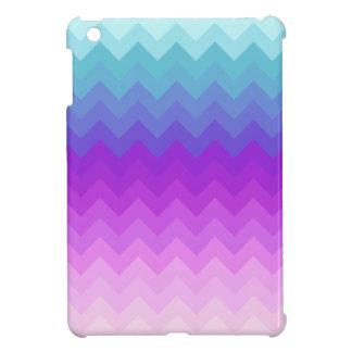 Pastel Ombre Chevron Patttern iPad Mini Case