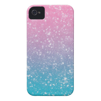 Pastel Ombre Glitter Case-Mate iPhone 4 Cases