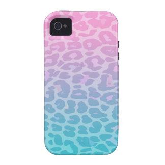 Pastel Ombre Leopard iPhone 4 Case