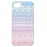 Pastel Ombre Tribal Pattern Aztec inspired Design Case For iPhone 5C