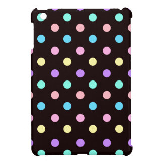 Pastel on Black Cover For The iPad Mini