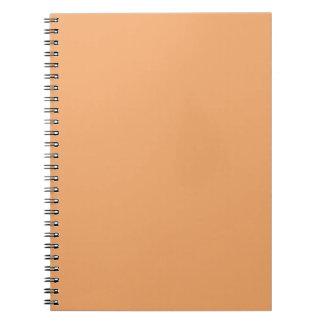 Pastel Orange Notebook