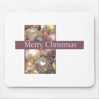 Pastel ornaments mousepad
