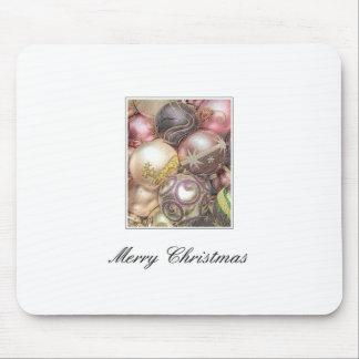 Pastel ornaments mouse pad