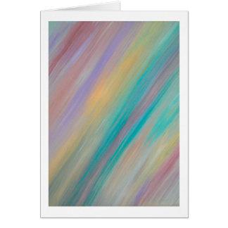 Pastel Painting - Blank Inside Card