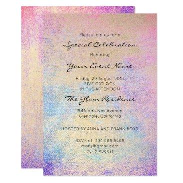 McTiffany Tiffany Aqua Pastel Painting Formal Pink Rose Bright Blue Navy Card