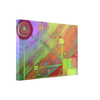Pastel Painting - gallery wrapped canvas