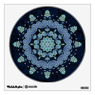 Pastel Paisley Mandala Wall Decal