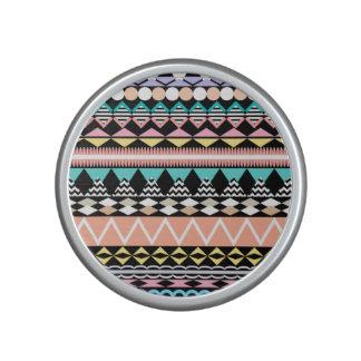 Pastel Party Aztec Pattern Speaker
