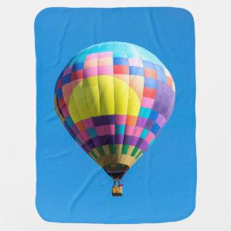 Pastel Patchwork Balloon Baby Blanket