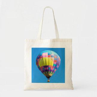 Pastel Patchwork Balloon Tote Bag