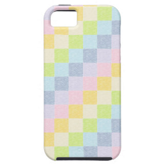 Pastel Patchwork Rainbow iPhone Case