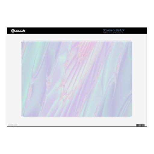 Pastel Pattern Fractal - Sea Shell Look. Laptop Skin