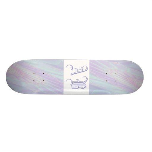 Pastel Pattern Fractal - Sea Shell Style. Skate Board Decks