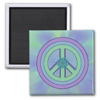 Pastel Peace & Enlightenment Lotus Magnet