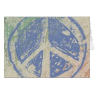 PASTEL PEACE Greeting Card