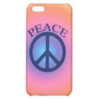 Pastel Peace Sign iPhone Case iPhone 5C Cover