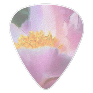 Pastel Peony .80mm Delrin Guitar Pick
